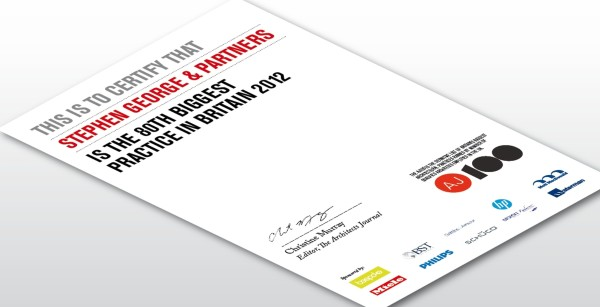 AJ100 Certificate 2012