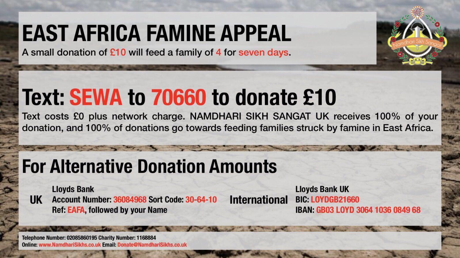 SEWA Donation Image