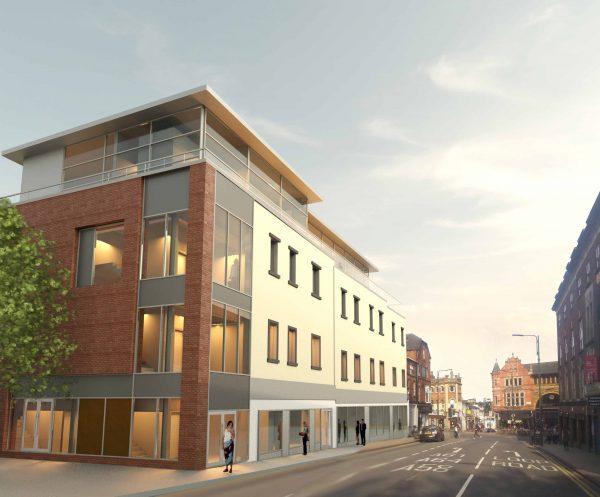 Stephen George + Partners -Mixed-use Development - Merrion Street, Leeds